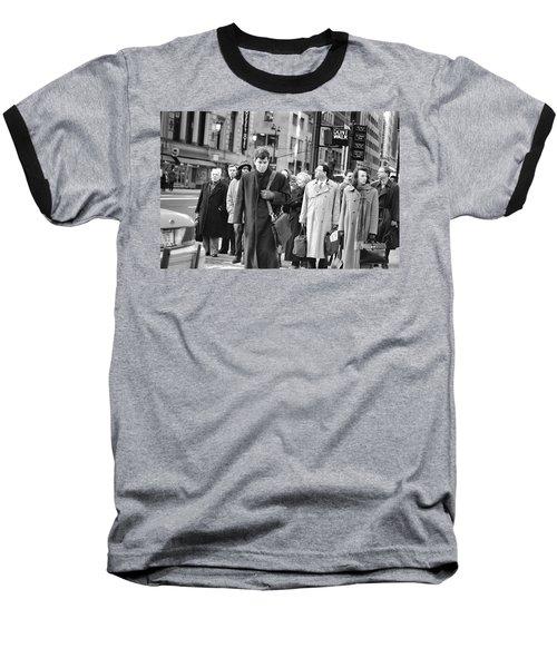 Crossing Manhattan Baseball T-Shirt