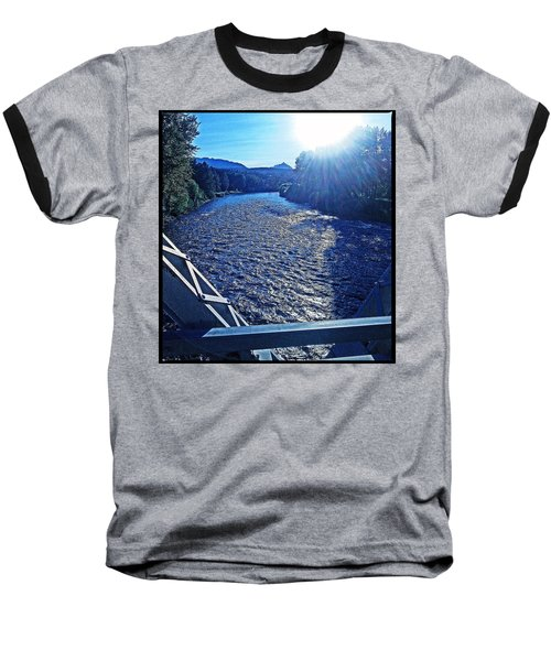 Baseball T-Shirt featuring the photograph Crossing The Final Bridge Home by Joseph J Stevens