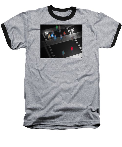 Baseball T-Shirt featuring the photograph Crosswalk by Pedro L Gili