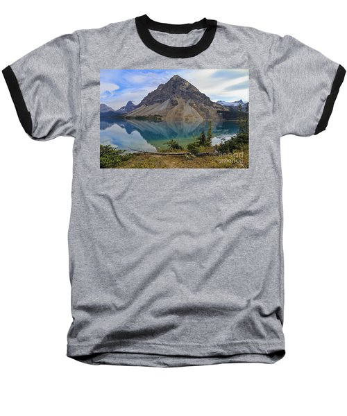 Crowfoot Mountain Banff Np Baseball T-Shirt