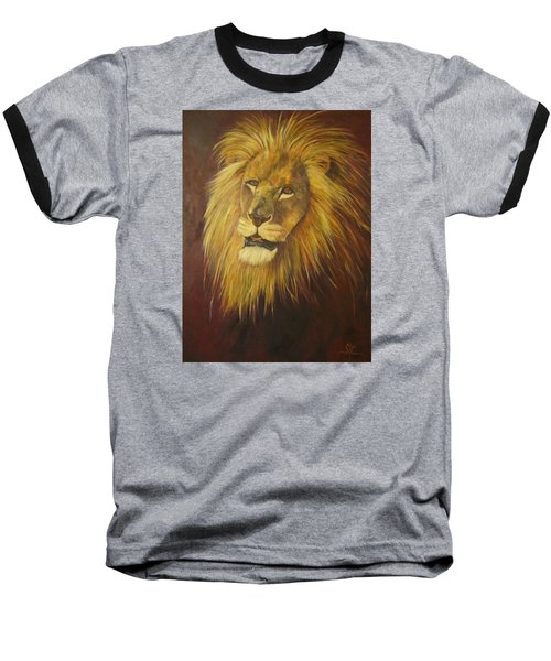 Crown Of Courage,lion Baseball T-Shirt