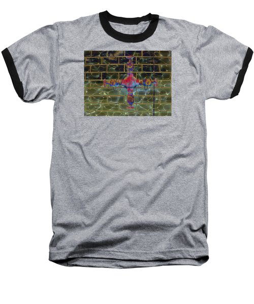 Baseball T-Shirt featuring the photograph Cruciform The Second by MJ Olsen