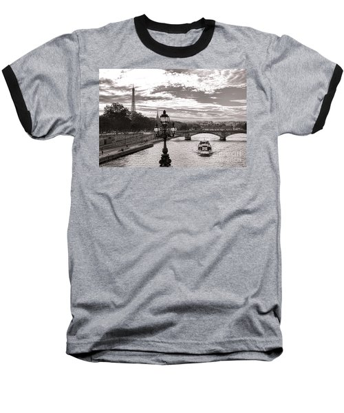 Cruise On The Seine Baseball T-Shirt