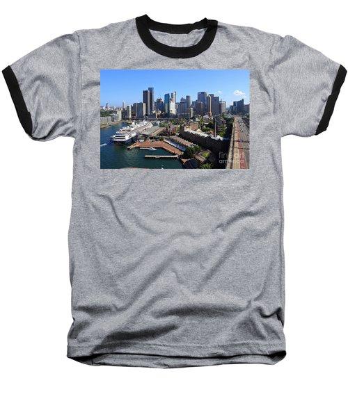 Cruiser Ship In Sydney Baseball T-Shirt