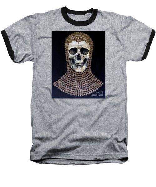 Baseball T-Shirt featuring the painting Crusader by Arturas Slapsys