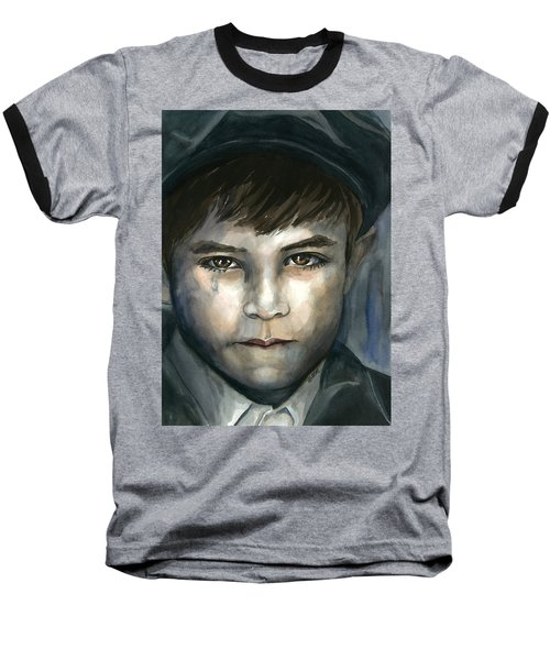 Crying In The Shadows Baseball T-Shirt