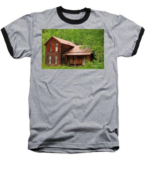 Crystal Cabin Baseball T-Shirt