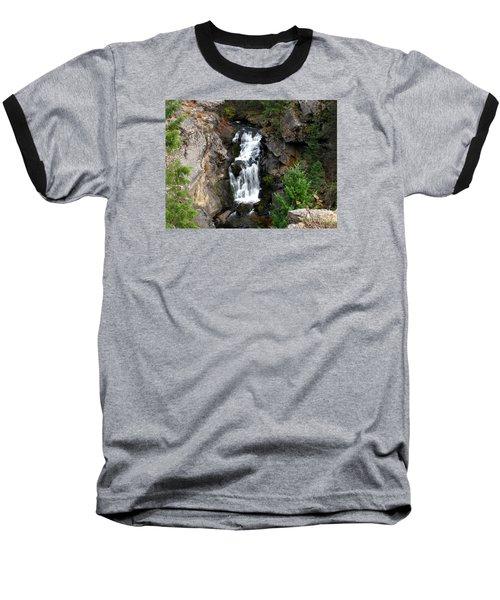 Crystal Falls Baseball T-Shirt by Greg Patzer