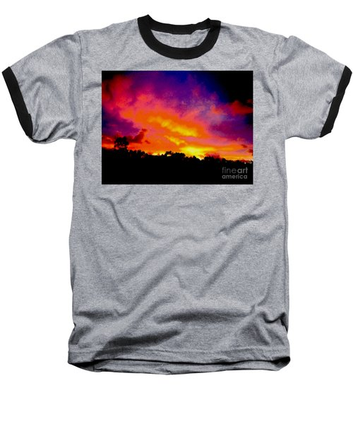 Baseball T-Shirt featuring the photograph Crystal Sunrise by Mark Blauhoefer