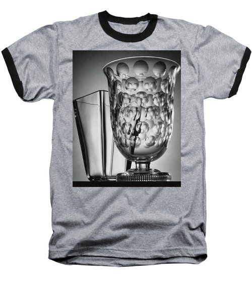 Crystal Vases From Steuben Baseball T-Shirt