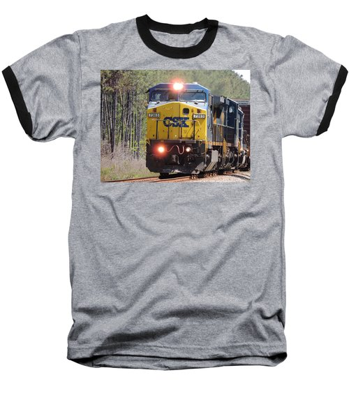 Csx 7363 Baseball T-Shirt by Kim Pate