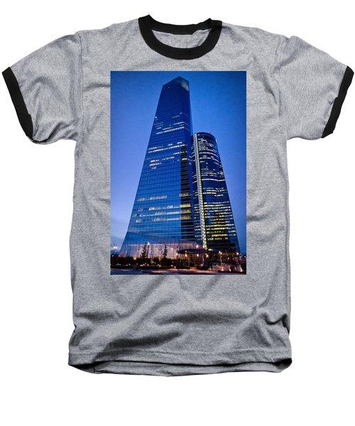 Cuatro Torres Business Area Baseball T-Shirt