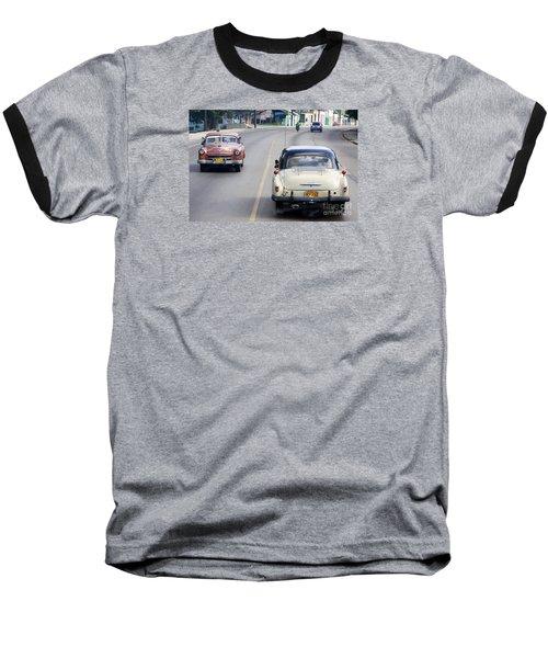 Cuba Road Baseball T-Shirt