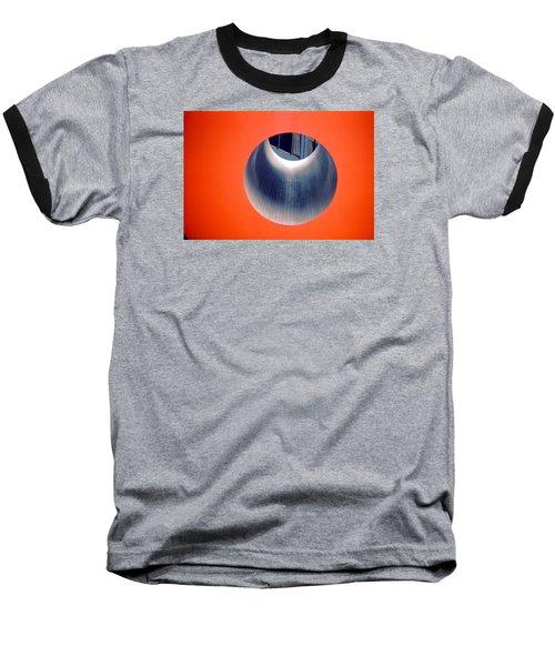 Cube Baseball T-Shirt by John Schneider