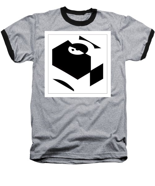 Cube Baseball T-Shirt