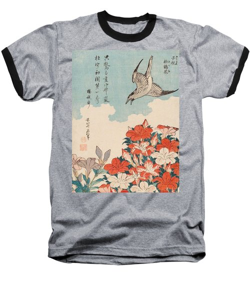 Cuckoo And Azaleas Baseball T-Shirt