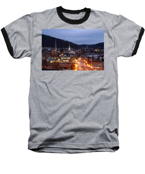 Cumberland At Night Baseball T-Shirt
