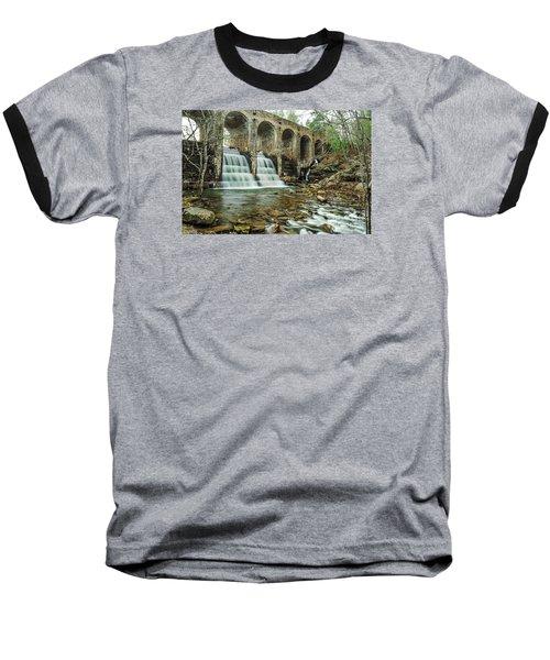 Cumberland Waterfall Baseball T-Shirt