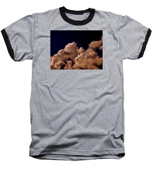 Clouds Baseball T-Shirt by Salman Ravish