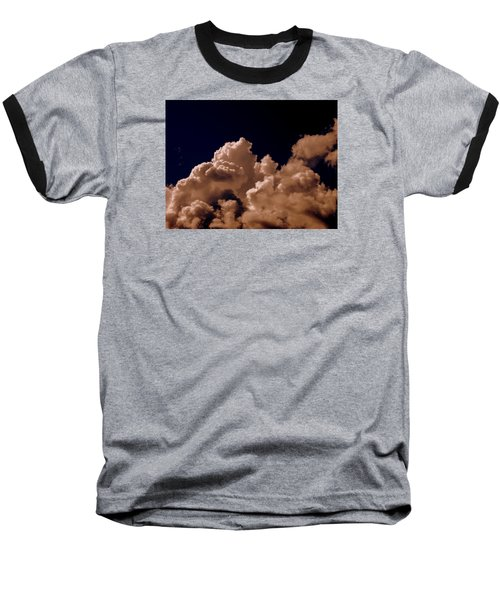 Clouds Baseball T-Shirt