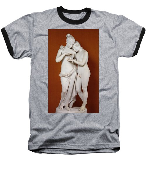Cupid And Psyche Baseball T-Shirt by Antonio Canova