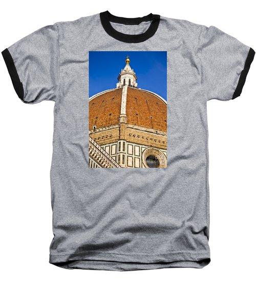 Cupola On Florence Duomo Baseball T-Shirt
