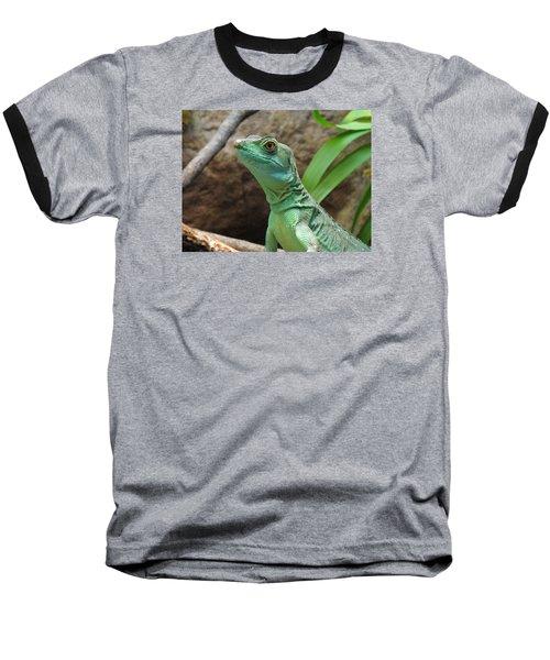 Baseball T-Shirt featuring the photograph Curious Gaze by Lingfai Leung