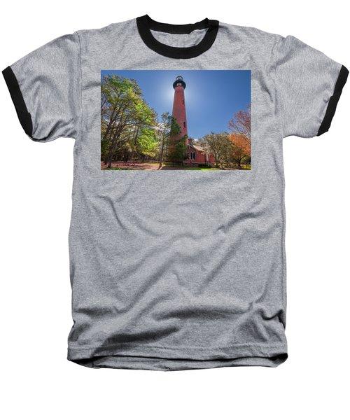 Currituck Beach Lighthouse  Baseball T-Shirt