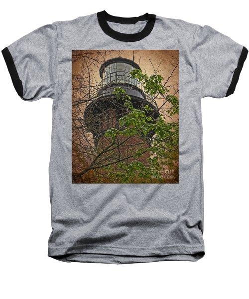 Currituck Light House Baseball T-Shirt