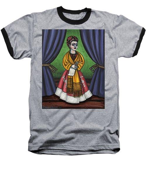 Curtains For Frida Baseball T-Shirt