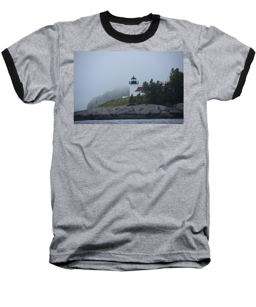 Baseball T-Shirt featuring the photograph Curtis Island Lighthouse by Daniel Hebard