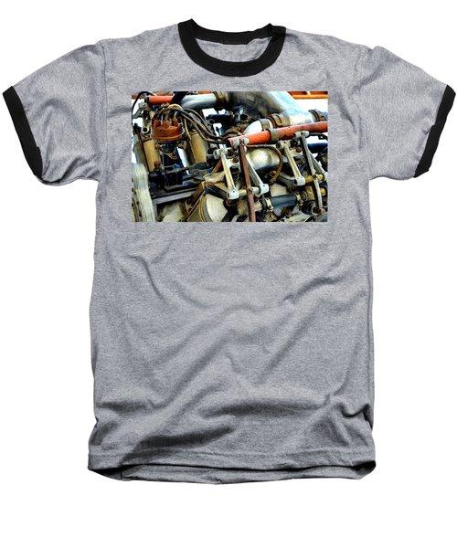 Curtiss Ox-5 Airplane Engine Baseball T-Shirt