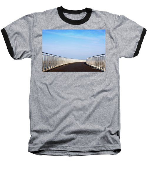 Curved Bridge Baseball T-Shirt