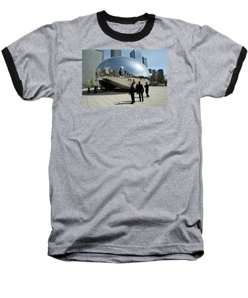 Curved Perception Baseball T-Shirt