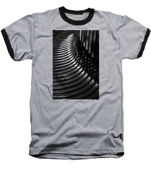 Curved Baseball T-Shirt by Wendy Wilton