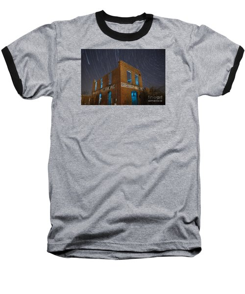 Baseball T-Shirt featuring the photograph Cushing Auto Service by Keith Kapple