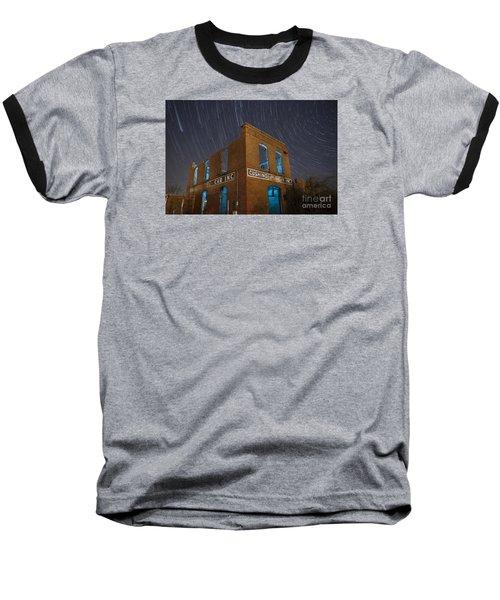 Cushing Auto Service Baseball T-Shirt