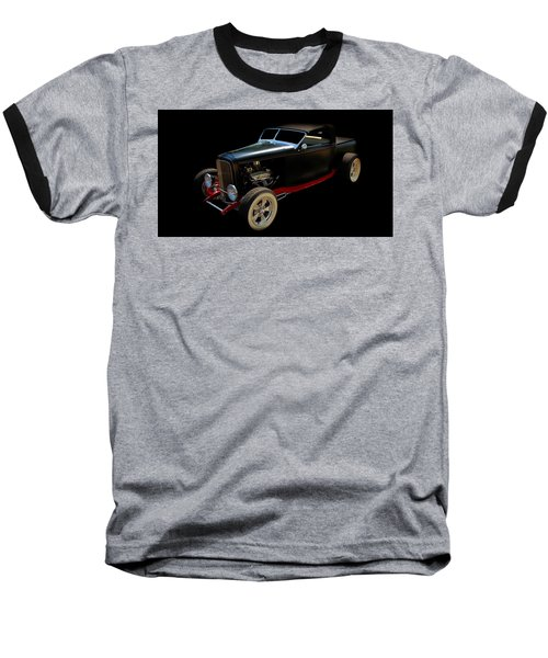 Hot Rod Baseball T-Shirt featuring the photograph Custom Hot Rod by Aaron Berg
