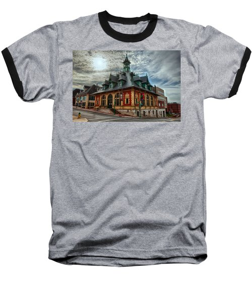 Customs House Museum Baseball T-Shirt