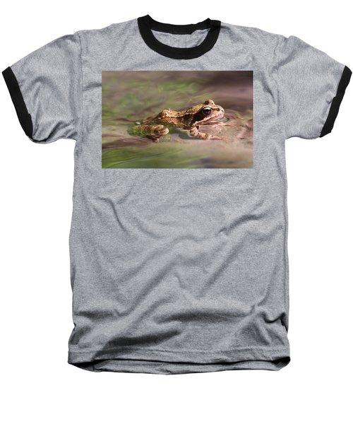 Cute Litte Creek Frog Baseball T-Shirt