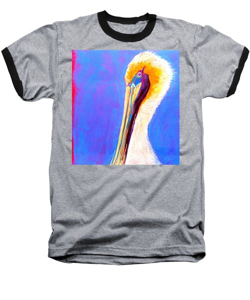 Cute Pelican Baseball T-Shirt