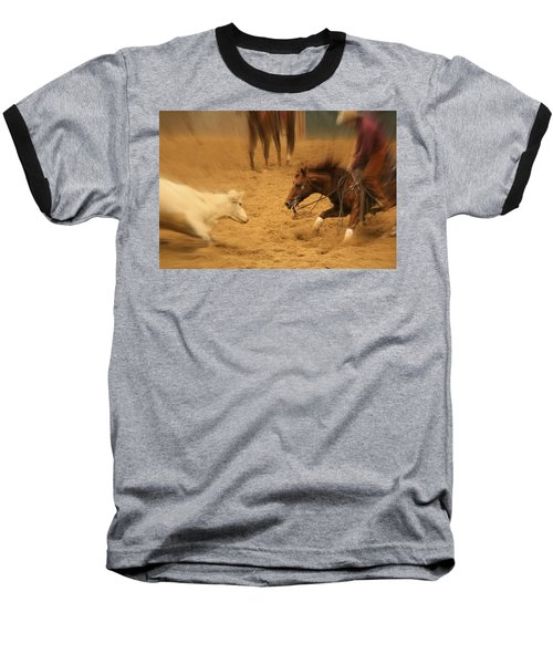 Cutting Horse 8 Baseball T-Shirt