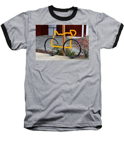 Baseball T-Shirt featuring the photograph Cycle Oregon by Kevin Desrosiers