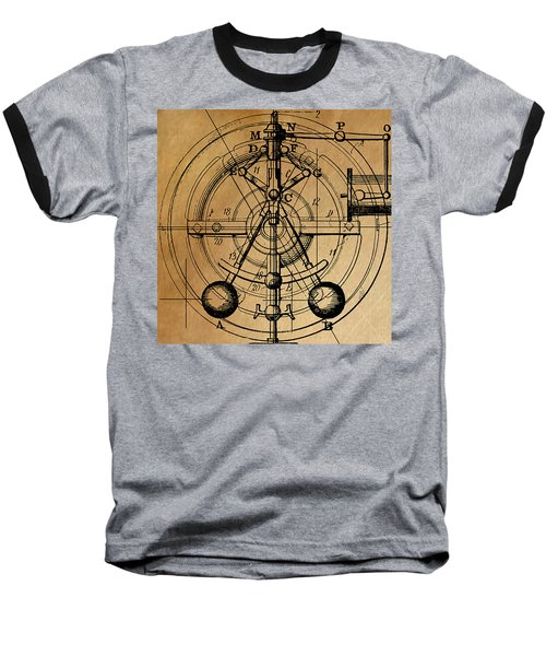 Baseball T-Shirt featuring the painting Cyclotron by James Christopher Hill