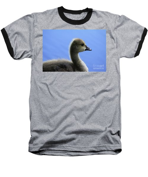 Baseball T-Shirt featuring the photograph Cygnet by Alyce Taylor