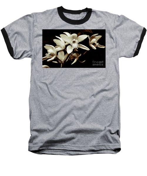 Cymbidium Orchids Baseball T-Shirt