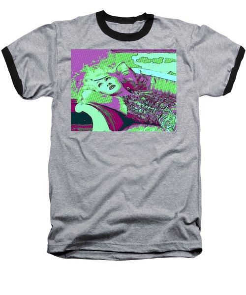 Cyndi Lauper Baseball T-Shirt