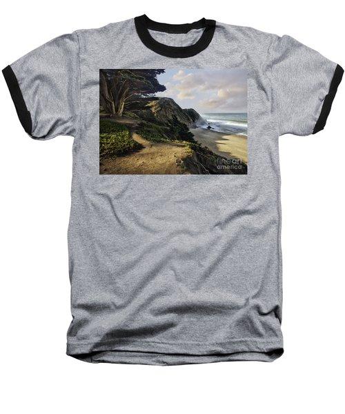 Cypress Beach Baseball T-Shirt