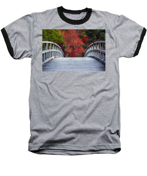 Baseball T-Shirt featuring the photograph Cypress Bridge by Sebastian Musial