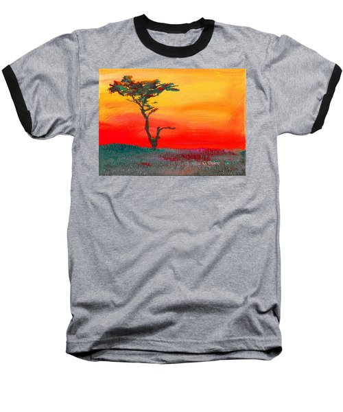 Cypress Sunrise Baseball T-Shirt